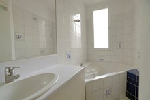 temporary rental for beautiful duplex 4 BR furnished rue Saint Charles Paris XV