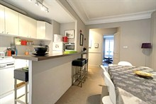 weekend rental near Porte de Versailles for 4 guests 700 sq ft rue Montbrun 14th district Paris