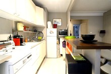 spacious apartment to rent monthly for 4 rue Montbrun Paris XIV