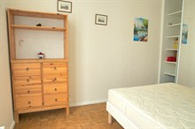 temporary rental for beautiful apartment furnished on rue Poncelet in Paris 17th