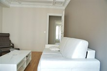 elegant short term rental apartment for 4 guests on rue Broca, Paris V