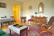 weekly rental 1 bedroom apartment for 2 along Avenue D'Iéna Paris 16th