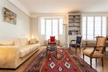 Furnished 2-room short-term rental for 4 in the Swiss Village, Paris 15th