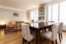 Accommodation for 4 in a spacious 2-room flat in the Swiss Village, Paris 15th