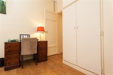 Apartment located in a posh building in the Swiss Village, Paris 15th, Fully equipped and furnished, sleeps 4