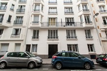 Swiss Village apartment with 2-rooms and an 8-person dining table perfect for entertaining, Paris 15th