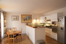 Rent a 3-room apartment for 4, fully furnished and equipped, Rue Rocroy, Paris 10th