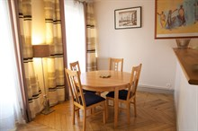 Stylish accommodation in a 3-room apartment, sleeps 4, Rue Rocroy, Paris 10th