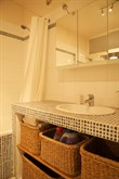 Clean and spacious apartment rental, fully furnished with 3-rooms and sleeping space for 4, Rue Rocroy, Paris 10th