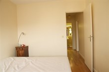 Very large 2-room flat w/ balcony, perfect for family or business stay, rue Lecourbe Paris 15th