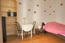 Lovely 23 m2 short-term studio rental for 2 at Daumesnil, Paris 12th