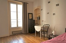 Well-let studio for 2, furnished, at Daumesnil, Paris 12th