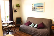 Getaway for 2 in a furnished studio apartment, rue des Patriarches, Paris 5th