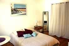 Charming studio rental available by the week or month, fully furnished, rue des Patriarches, Paris 5th