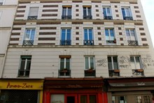Turn-key studio rental for 2 on rue des Patriarches, Paris 5th, Rent by month or week