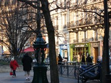Latin Quarter furnished studio for 2, rue des Patriarches, Paris 5th