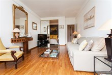 Holiday rental in a turn-key flat for 2 at rue des Bauches Paris 16th