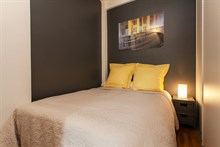 Romantic stay for 2 in a furnished 2-room flat on rue des Bauches, Paris 16th