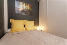 Romantic stay for 2 in a furnished 2-room apartment on rue des Bauches, Paris 16th