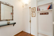 Fully furnished and equipped modern 2-person flat on rue des Bauches, Paris 16th