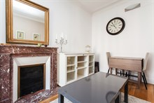 Monthly rental of 3-room furnished apartment for 6 at Avenue de Versailles, Paris 16th