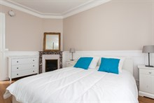 Furnished 3-room apartment available for short-term rental at Avenue de Versailles, Paris 16th