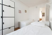 Turn-key apartment rental for 6 at Avenue de Versailles, Paris 16th