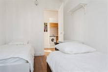 Weekly or Monthly rental of furnished 3-room flat at Avenue de Versailles, Paris 16th District