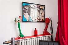 Monthly lodging w/ 2 rooms and large balcony in Saint Mandé, access to Paris on line 1
