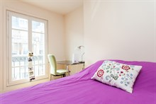 2-room flat with balcony available for short-term rental, rue de Courcelles, Paris 17th