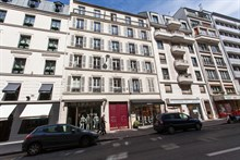 Modern 2-room apartment for 4 with balcony, rue de Courcelles, Paris 17th
