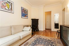 apartment to rent for the week furnished and equipped for 4 Convention Paris 15th district
