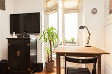 charming apartment to rent weekly boulevard de la villette in Jaures paris 19th
