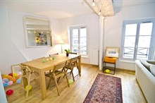 spacious apartment furnished 550 sq ft Avenue des Ternes Paris XVII
