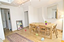 charming apartment furnished and equipped to rent short term avenue des Ternes Paris XVII