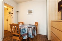 spacious rental apartment for 2 on avenue de Saint Ouen, paris 18