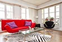 rent a furnished apartment for 2 to 4 guests 581 sq ft Paris VI