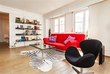 seasonal rental apartment for 2 to 4 guests Paris 6th