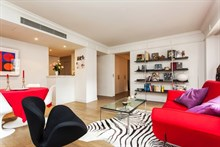 contemporary apartment rental for 2 or 4 guests in Saint Germain des Prés Paris 6th