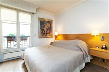 spacious apartment furnished sleeps 2 or 4 guests Paris Saint Germain 6th