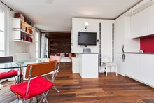 seasonal rental apartment for 3 guests rue Vielle du Temple Paris 4th district