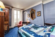 Short term rental apartment furnished for 4 rue Fabert near Invalides, Paris 7th district