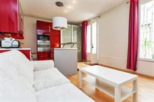 renovated apartment to rent by year 1 bedroom 335 sq ft boulevard du montparnasse Paris 15th