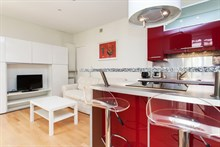 yearly rental apartment for 2 in St Germain des Pres Paris 15th