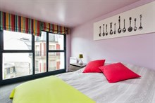 Trendy duplex flat for weekly or monthly rental near Parc Monceau Paris 17th
