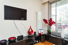 rent a furnished studio apartment 377 sq ft Paris 6th