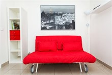 modern apartment to rent monthly for 2 or 4, with terrace, near bastille paris 11th