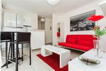 beautiful apartment with terrace to rent for the week, 334 sq ft, bastille paris 11th