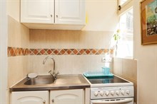 weekend rental of romantic apartment for 2, 1 bedroom, near bastille paris 11th