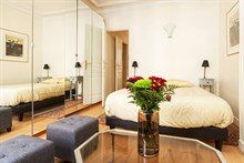 beautiful furnished apartment to rent for 2, between bastille and nation paris xi